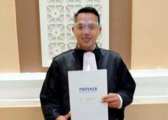 Dua Kali Gagal, Tubagus Muhammad Nasarudin Resmi Menyandang Gelar Advokat