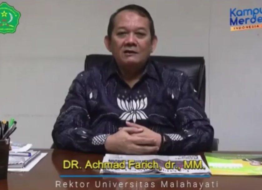 Rektor Unmal Achmad Farich Ucapkan Selamat Hari Pers Naional, Berharap Insan Pers Semakin Maju dan Profesional