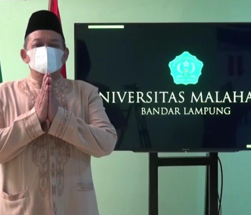 Rektor Universitas Malahayati Bandar Lampung Ucapkan Selamat Menjalankan Ibadah Ramadan 1442 H